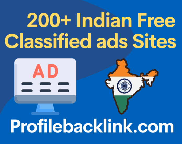 Top 200+ Indian Free Classified ads Posting Sites List 2021