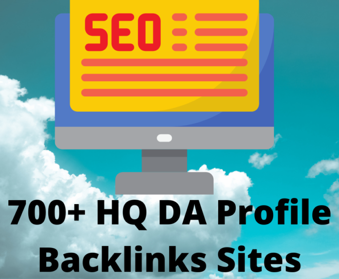 700 High Domain Authority Sites For Profile Backlinks